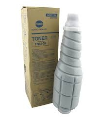 Konica Minolta TN-610K Toner Cartridge, A04P131 - Black (Genuine